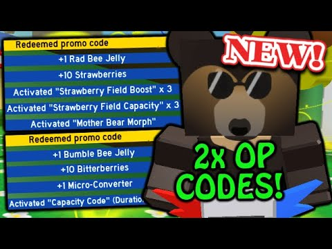 NEW 2x OP CODES COMBO (Use Quick!) | Roblox Bee Swarm