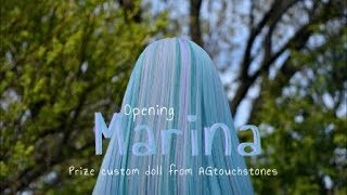Opening Marina! (Prize Custom American Girl Doll From AGtouchstones)