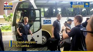 England team arrives in Sri Lanka for two-match Test Series