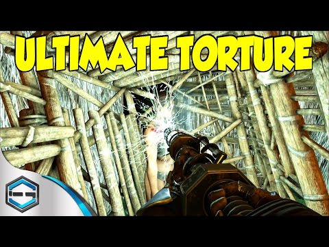 Ark Survival Evolved Ultimate Torture In The Cage