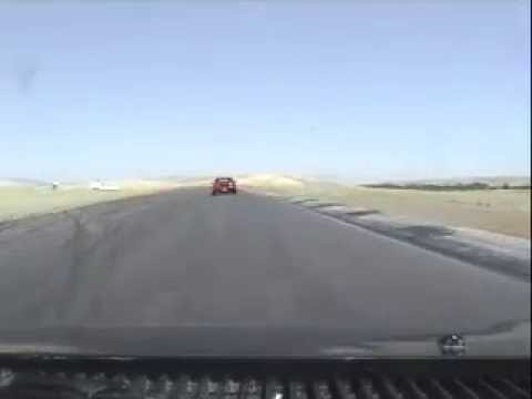 MR2s take a spin on the track