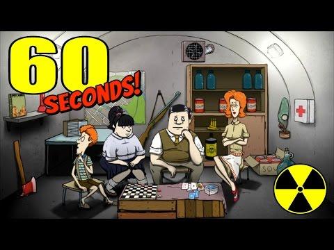 Игра 60 Секунд - Как пережить ядерный удар?