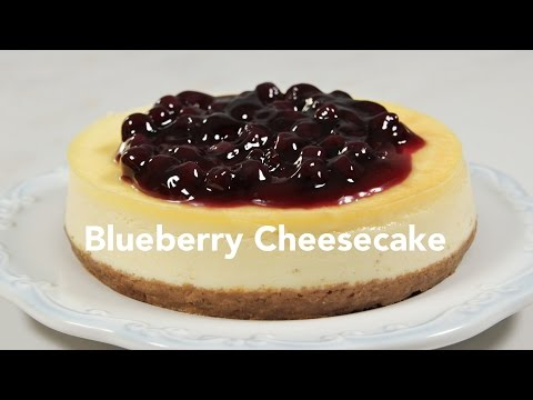 Blueberry Cheesecake Recipe | Yummy Ph