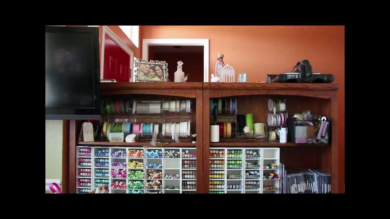 My Craft Room - YouTube