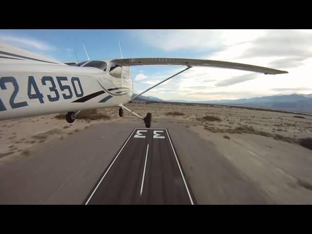 Flight Boulder City -  Las Vegas - Death Valley - Los Angeles