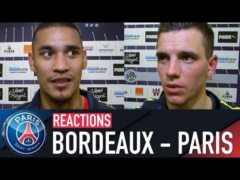 RÉACTIONS : BORDEAUX 0-1 PARIS SAINT-GERMAIN