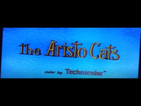 The Aristocats 1996 Laserdisc Opening