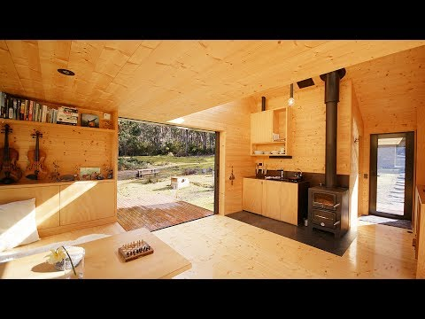 NEVER TOO SMALL ep.26 Off-grid Tiny Cabin Bruny Island