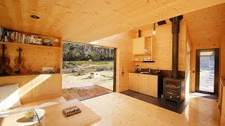 NEVER TOO SMALL 28sqm/300sqft Off-grid Tiny Cabin - Bruny Island Hideaway