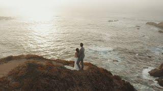 An Elopement On The Cliffs Of Big Sur California | Elopement Wedding Film