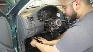 How to Bypass SRS & AIRBAG With After Market Steering Wheel ~ Honda ~