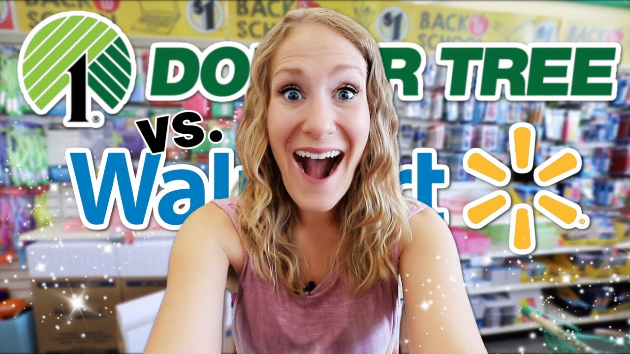 DOLLAR TREE vs. WALMART (THE TRUTH!) 😱 Jackpot Back to School Organization you SHOULD buy in 2021!