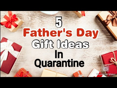 5 Amazing DIY Father's Day Gift Ideas During Quarantine | Fathers Day Gifts | Fathers Day Gifts 2020