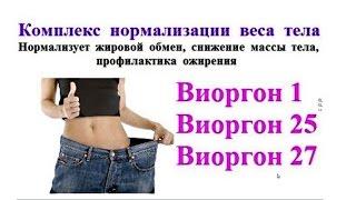 Флуревиты и похудение