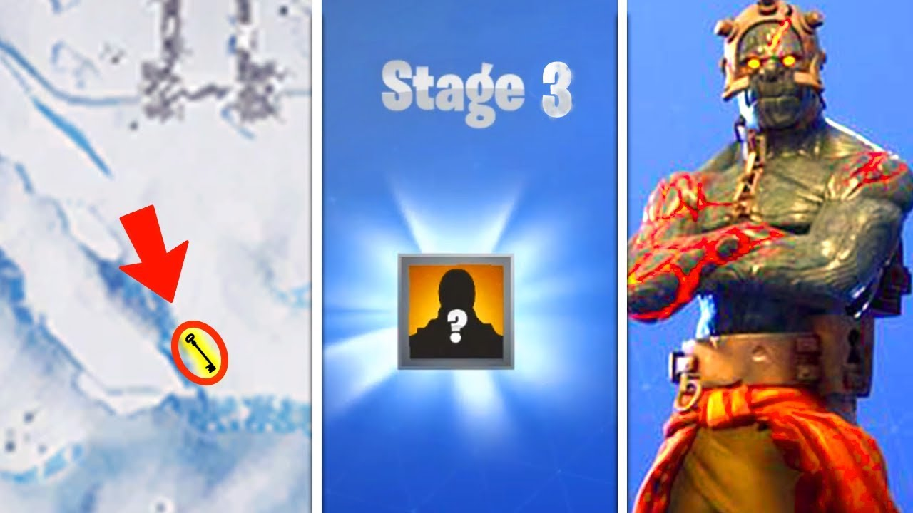 Unlock Prisoner Stage 3 Fortnite