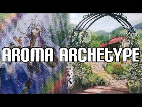 Yugioh Aroma Archetype Revealed - Life Point Gaining Archetype
