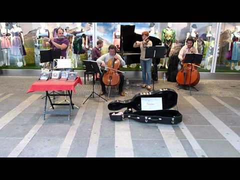 Musicians at Salzburg.