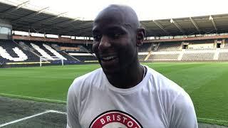 Benik Afobe Reaction 🎤hull City 1 3 Bristol City