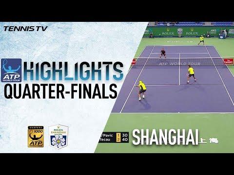 Doubles Highlights: Rojer/Tecau Into Shanghai 2017 Semi Finals