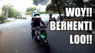 NGE-BEGAL Kawasaki Z800!! FIRST RIDE 4 Cylinder Bike! #38 KENMOTOVLOG