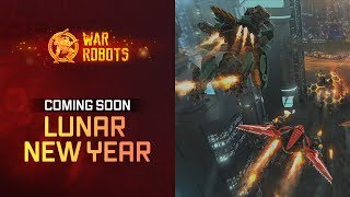 War Robots Lunar New Year Event | coming soon with WR update 4.7