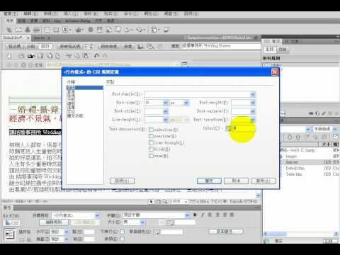 TQC Dreamweaver CS4 101-結婚事務所.avi