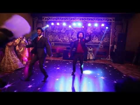 Best Sangeet performance by brides brother on Desi boys - Rishi & Rohit