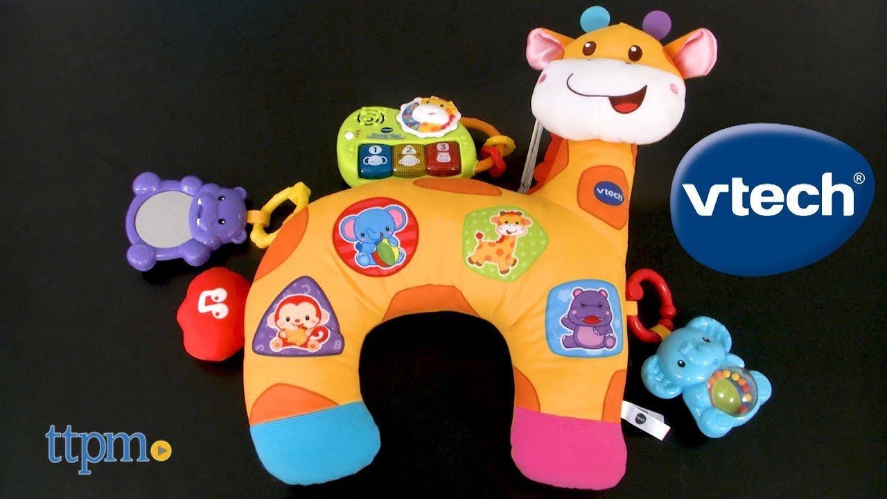 Tummy Time Discovery Pillow From Vtech Youtube