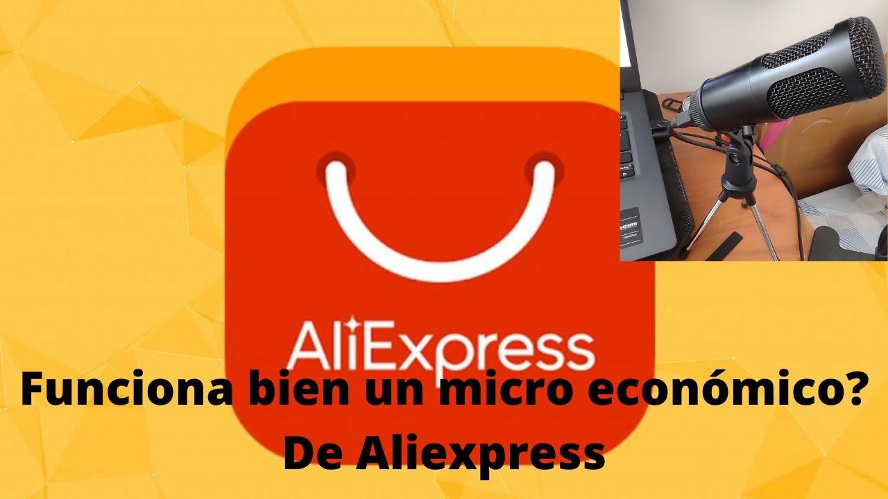 probando micro condensador económico (aliexpress) ¿vale la pena?