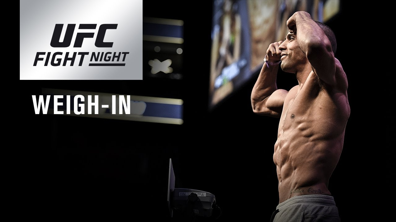 UFC Fight Night 128: Official Weigh-in / Официальное Взвешивание