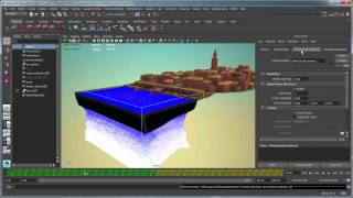 Creating a body of water simulation using Bifrost - Part 1: Peaceful coastal ocean