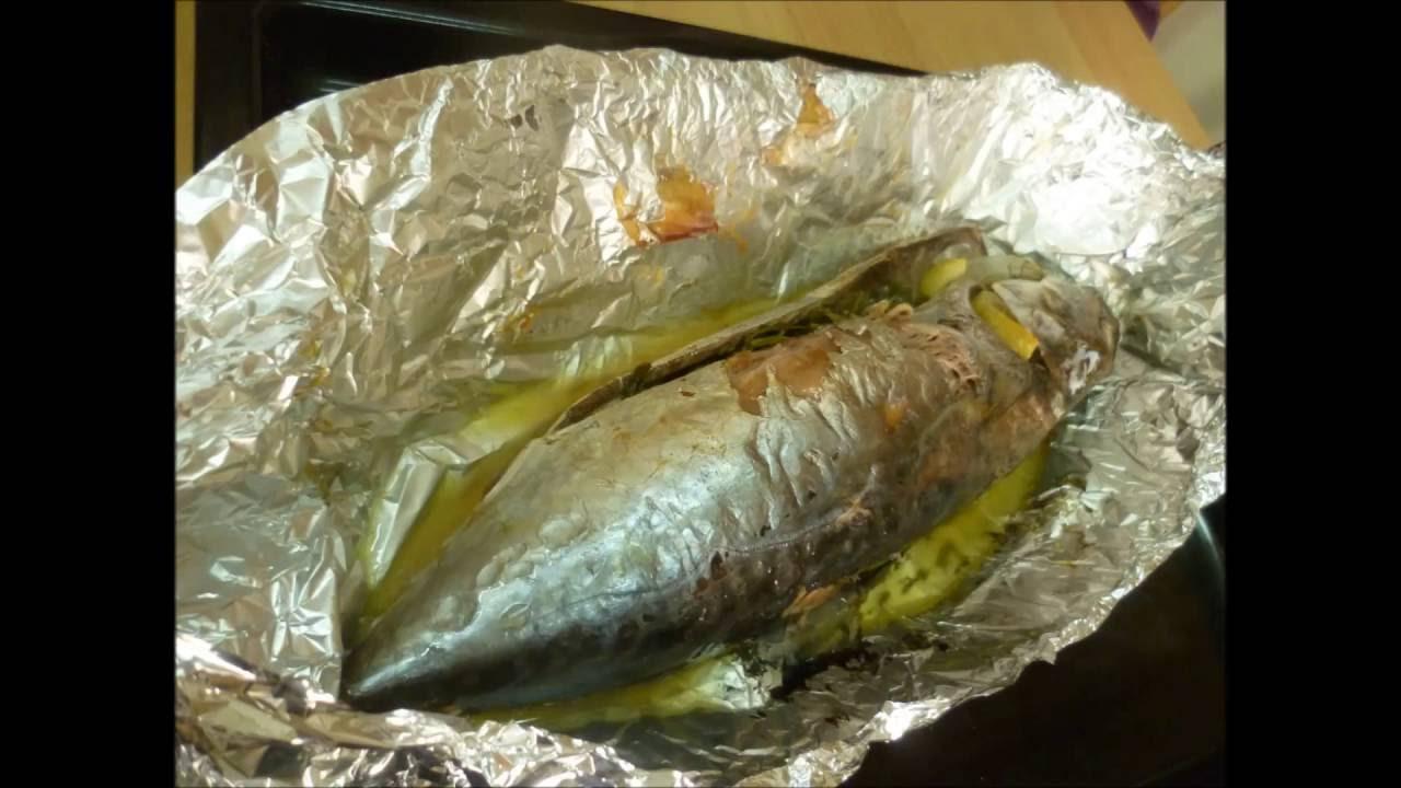 тунец в духовке в фольге рецепты с фото
