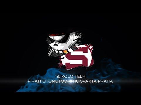 19. kolo TELH: Piráti Chomutov - HC Sparta Praha 5:0 sestřih