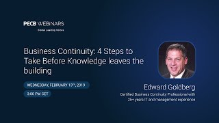 Business Continuity: 4 Steps to Take Before Knowledge leaves the building