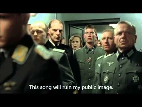 Hitler Reacts to the song 'Hitler Has Only Got One Ball'