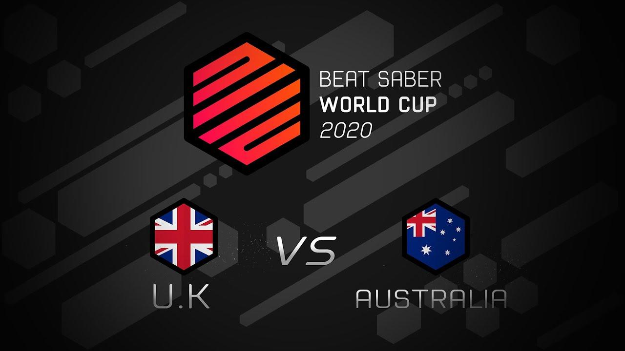Beat Saber World Cup | United Kingdom vs Australia  | Round of 16
