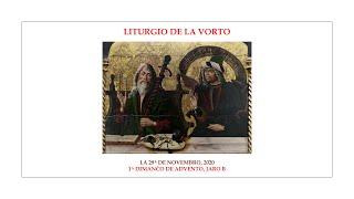 La Liturgio de la Vorto — 1a Dimanĉo de Advento, jaro B — 29.11.2020
