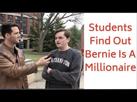 Preston Scott - WATCH! Students React to Bernie Being in The 1%
