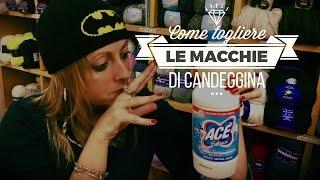 """DiY Come Coprire """"togliere"""" le Macchie di Candeggina"""