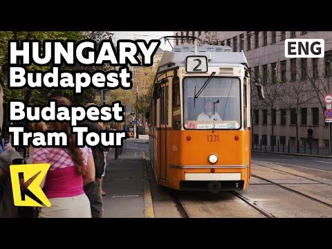 【K】Hungary Travel-Budapest[헝가리 여행-부다페스트]트램으로 보는 부다페스트/Tram/City/Danube River/Tram Tour