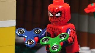 Lego Spiderman Fidget Spinner