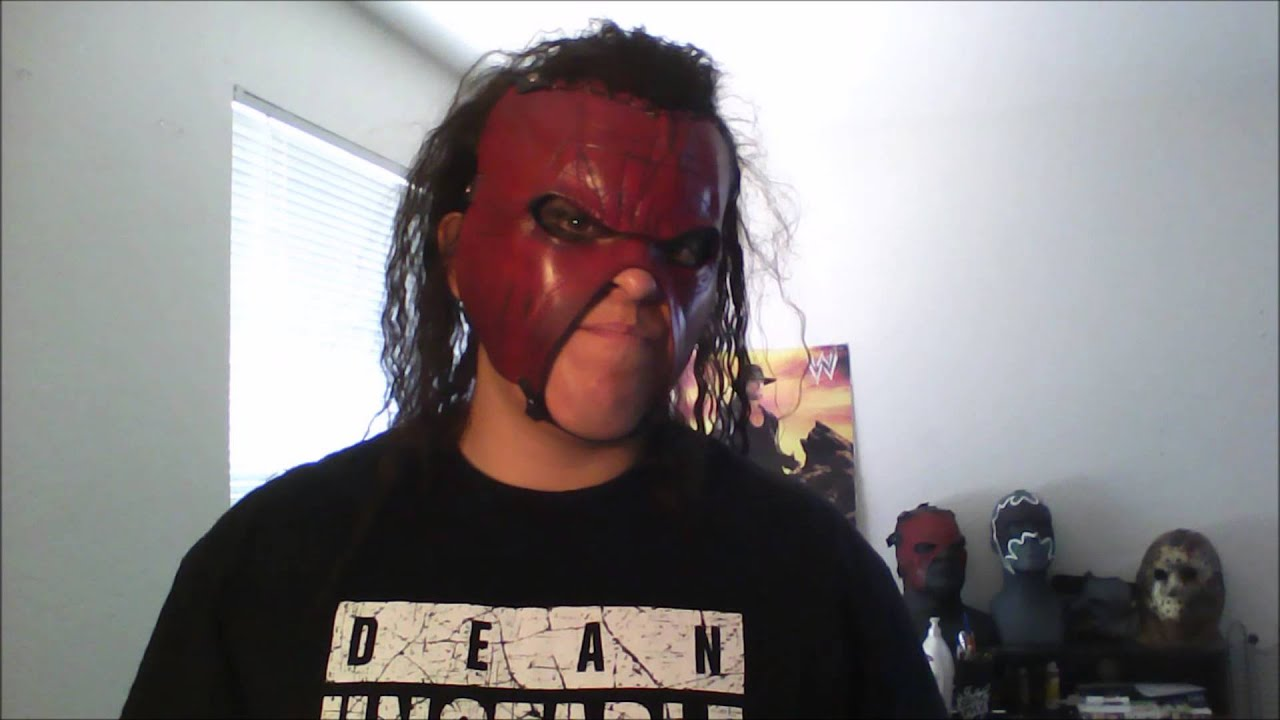 how to make wwe kane mask