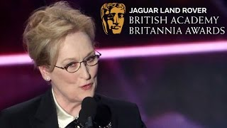 Meryl Streep and the long history of male Britannia honorees - 2015 British Academy Britannia Awards