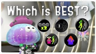 Splatoon 2 - The Best & Worst Shirt Exclusive Gear Abilities