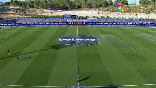 Calentamiento Levante UD vs Real Sociedad