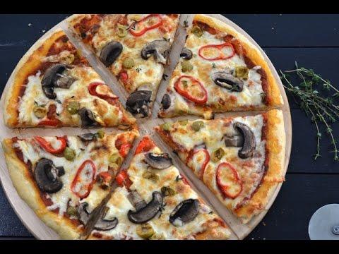 صورة  طريقة عمل البيتزا طريقة عمل البيتزا في المنزل -طريقة مفصلة تتضمن تحضير الصلصة و العجينة مثل المطاعم Yummy Food طريقة عمل البيتزا من يوتيوب