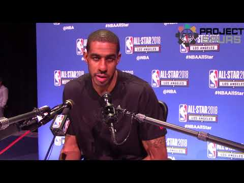 Spurs All-Star LaMarcus Aldridge Talks About Returning To The All-Star Game After Missing It Last Yr