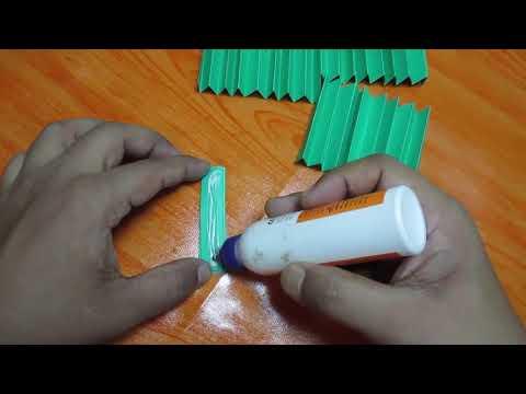 Simple paper rosettes flower tutorial   DIY paper Crafts innovative arts
