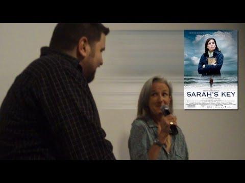 Acclaimed author Tatiana De Rosnay at the Dallas screening of SARAH'S KEY