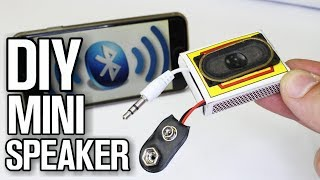 How To Make Mini Amplifier - DIY Bluetooth Speaker